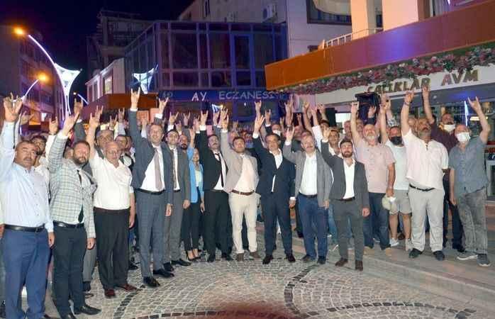 MHP Karamürsel'de Göktekin  dualarla görevine başladı