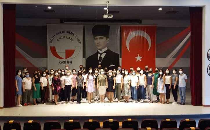 ODTÜ GV Özel Kocaeli Okulları öğretmenleri  yeni döneme 'merhaba' dedi