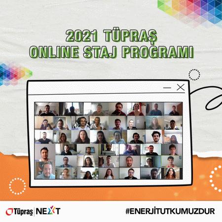 Tüpraş'tan Online Staj Programı