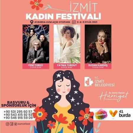İzmit Kadın Festivali başlıyor