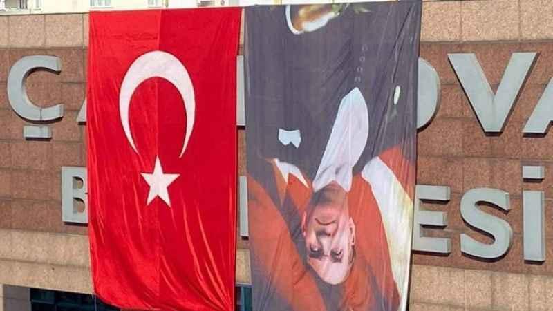 30 Ağustos öncesi belediyeden Atatürk'e saygısızlık