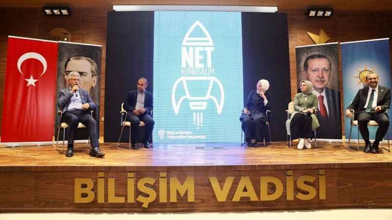 """AKP Kocaeli, gençlerle """"Net Konuştu"""""""