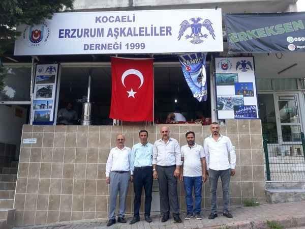 Kocaeli Erzurum Aşkaleliler Derneği Başkanı'nı seçti!