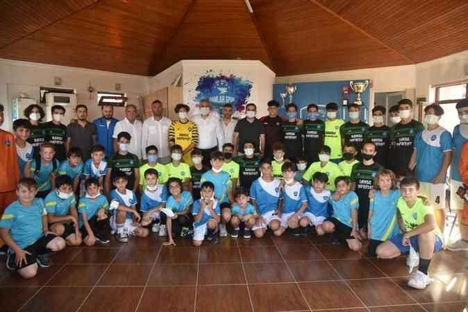 Başiskele Damlar Spor Kulübü lokali açıldı