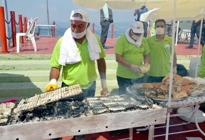Karamürsel'de 13. Ereğli  Balık Festivali coşkusu