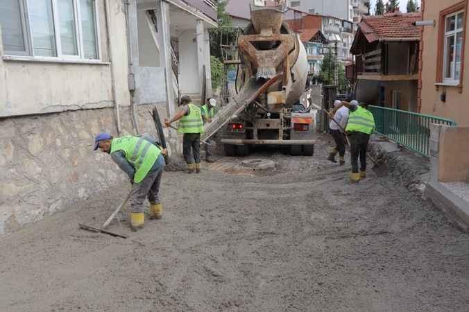 Şirinlik Sokak'ta vatandaşlar yeni yollarına kavuştu