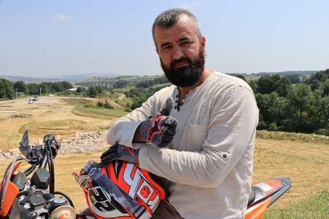 Akmeşe Motocross Parkurunda hazırlandı, Türkiye şampiyonu oldu