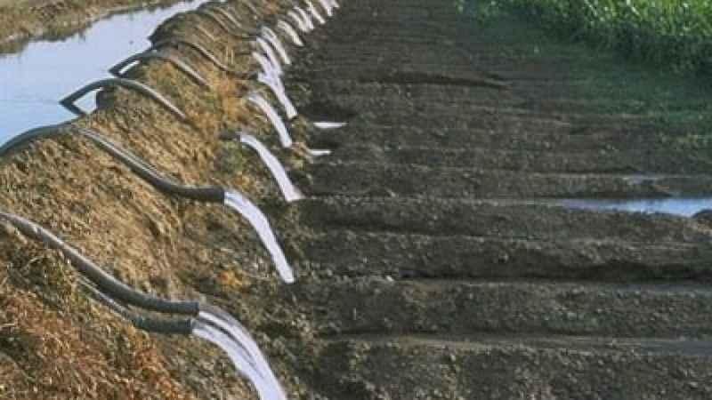 Sulama tesis inşaatı yaptırılacaktır