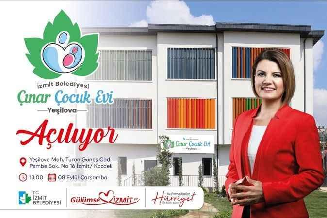 Çınar Çocuk Evi 8 Eylül'de açılıyor