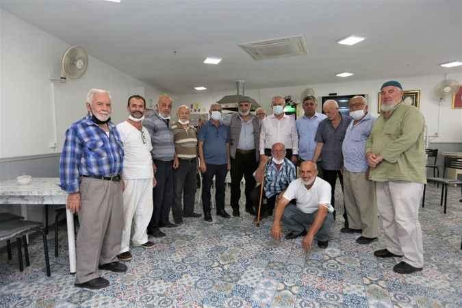 Aygün'den Merkez Camii Derneği'ne ziyaret