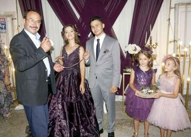 Kaptan Ahmet ile Ceren  evliliğe ilk adımı attı