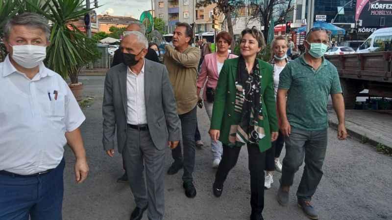 İYİ Parti İzmit, Bekirdere esnafını turladı