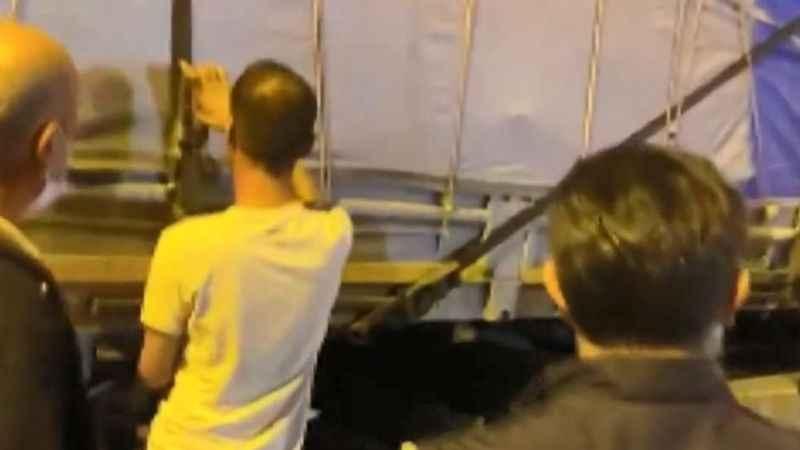 TIR'da 112 kaçak göçmen yakalandı
