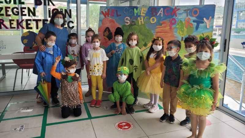 Düş Bahçesi İlkokulu, 'yeşil bir gezegen için harekete geçti'