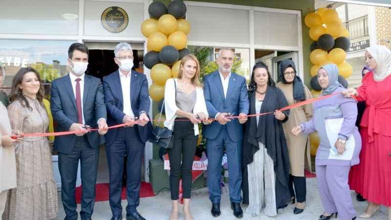 Karamürsel'de 'Heybe Kadın Kooperatifi' açıldı