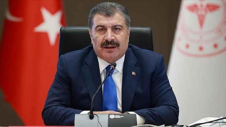 Sağlık Bakanı Fahrettin Koca kritik tabloyu paylaştı!
