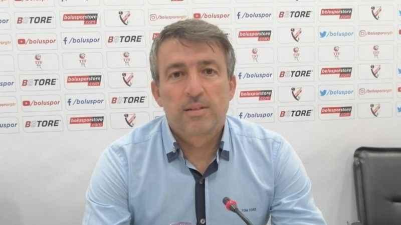 """Boluspor Teknik Direktörü Reha Erginer: """"Bu galibiyet bize moral oldu"""""""