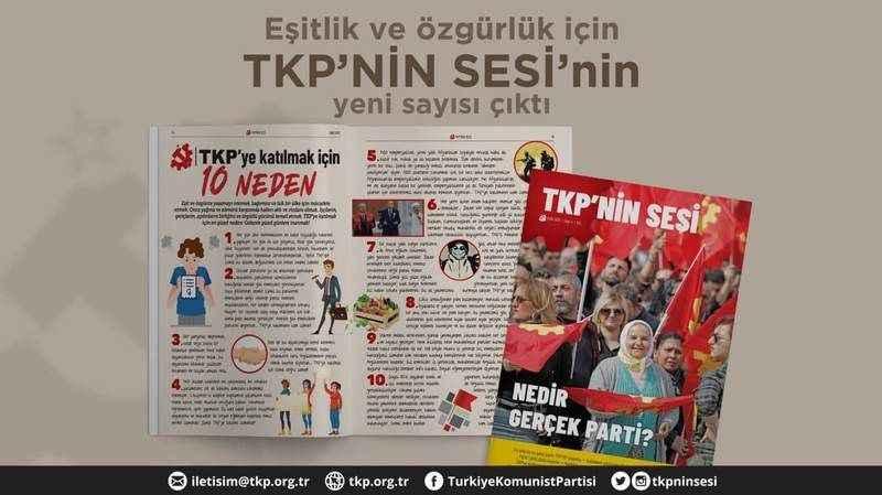 TKP'nin Sesi'nin 4. sayısı çıktı: Nedir gerçek parti?