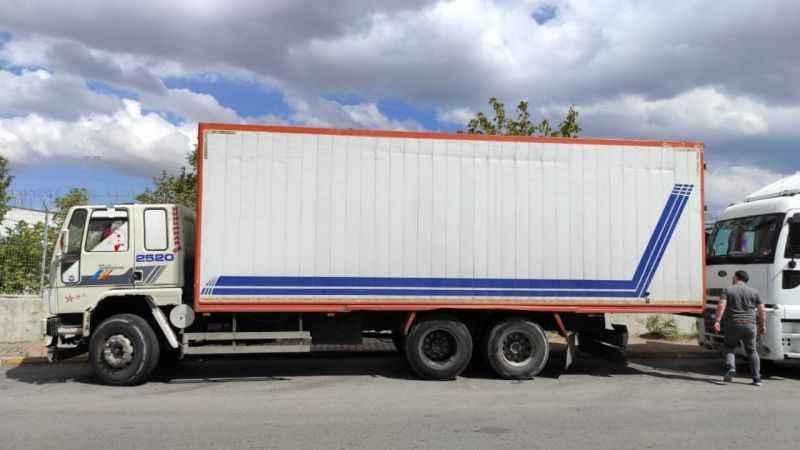 Bir kamyon dolusu yağ çaldı