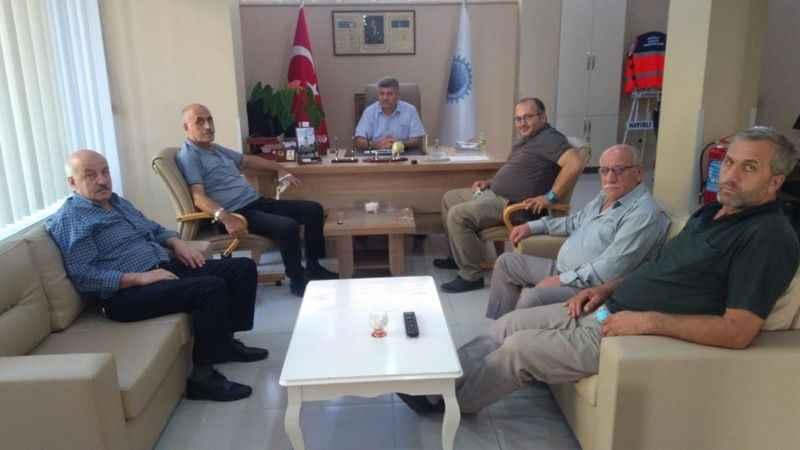Trabzon Köprübaşı Arpalılılar, Esnaf Odası'na gitti