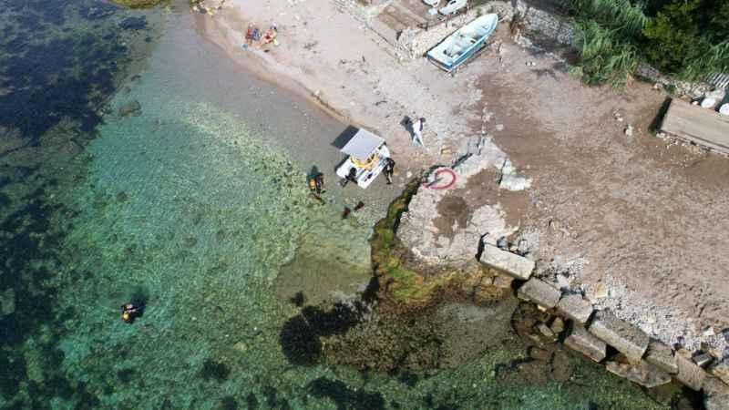 Kerpe'de su altı kazısı başladı