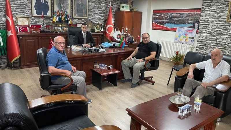 Arpalı Köyü Derneği'nden MHP Kocaeli'ye ziyaret