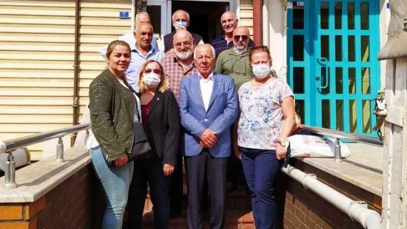 Temel Ofluoğlu'ndan CHP kayyum heyetine ziyaret