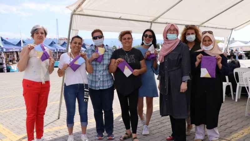 Üretici kadınlar, İZGİM'in açılışınıheyecanla bekliyor