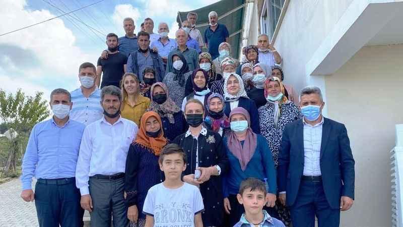 AKP'li Zeybek'ten Kandıra'da bir dizi ziyaret