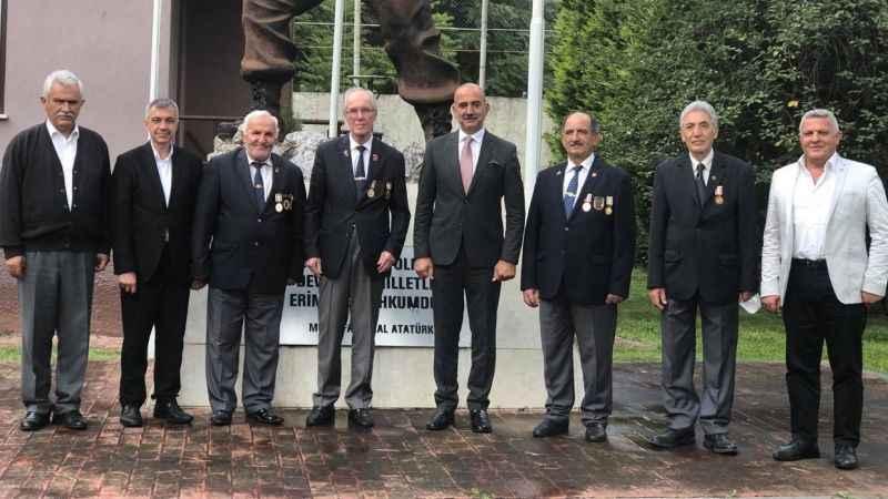 İzmit Kent Konseyi'nden Muharip Gaziler'e ziyaret