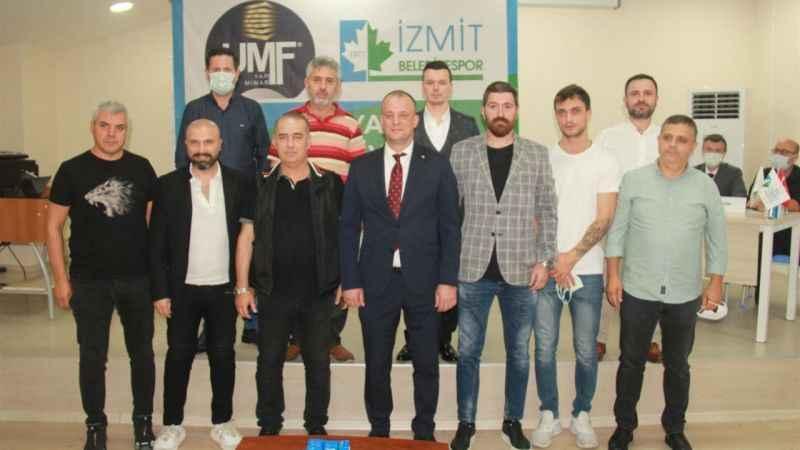 İzmit Belediyespor'da güçlü yönetim iş başında!