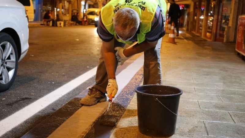 İzmit Belediyesinin özverili çalışmasıyla Kuruçeşme ışıl ışıl oldu