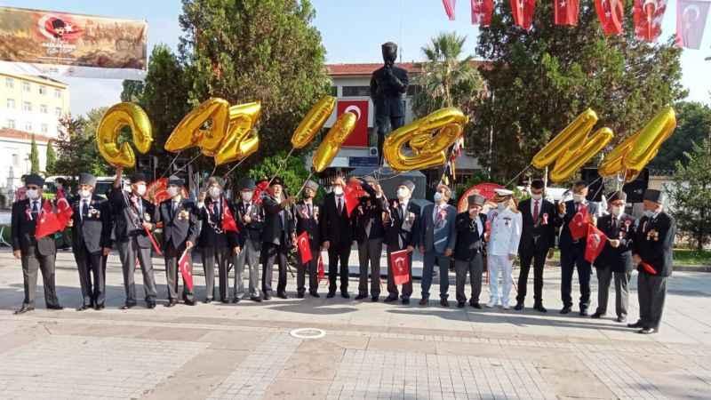 Kocaeli'de 19 Eylül Gaziler Günü dolayısıyla tören düzenlendi