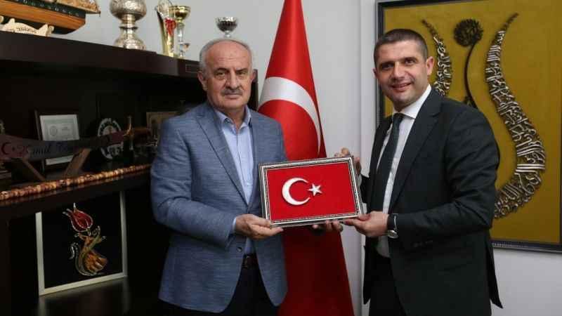 Aygün'den Tüylüoğlu ve Akmanşen'e ziyaret