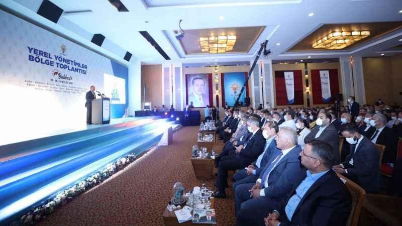 """AKP """"Yerel Yönetimler Bölge Toplantısı"""" tamamlandı"""