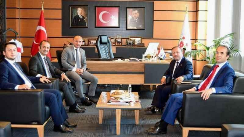 Başkan Vekili Çakmak'tan Başkan Oral'a ziyaret