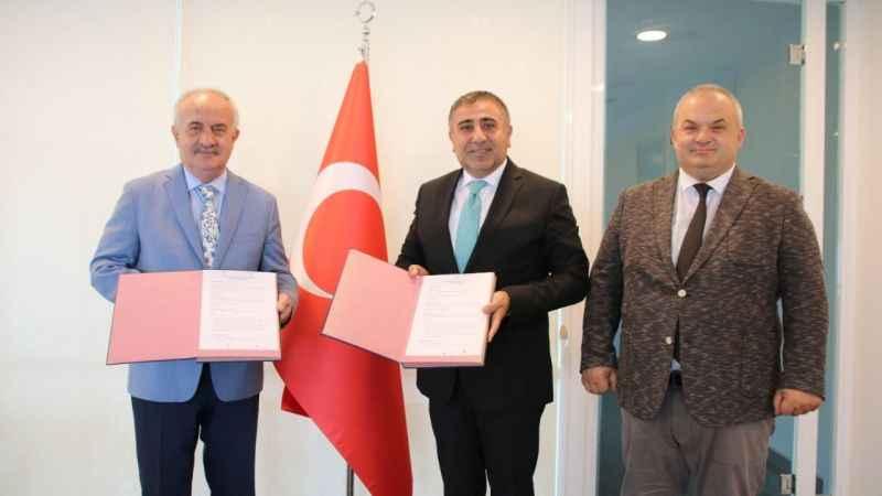 Derince Belediyesi ile TÜBİTAK MARTEK protokol imzalandı