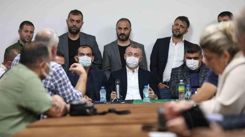 Büyükakın: Yenidoğan ve Serdar'da kalıcı çözümler üreteceğiz