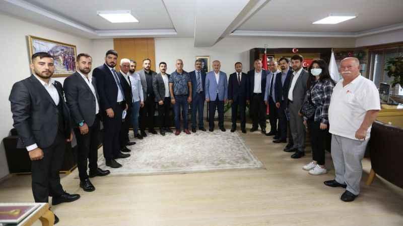 MHP Derince'den Aygün'e ziyaret