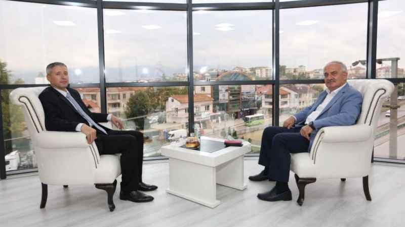 Başkan Aygün'den Vergi Dairesi'ne ziyaret