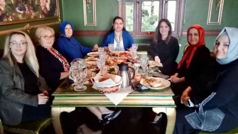 Marmara Kadınlar BirliğiSelda Yavuz'u misafir etti