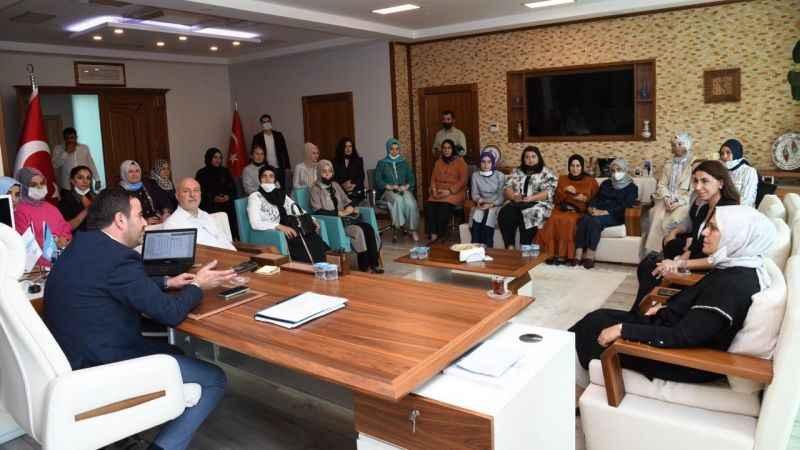 Özlü, Milletvekili Katırcıoğlu'nu ağırladı