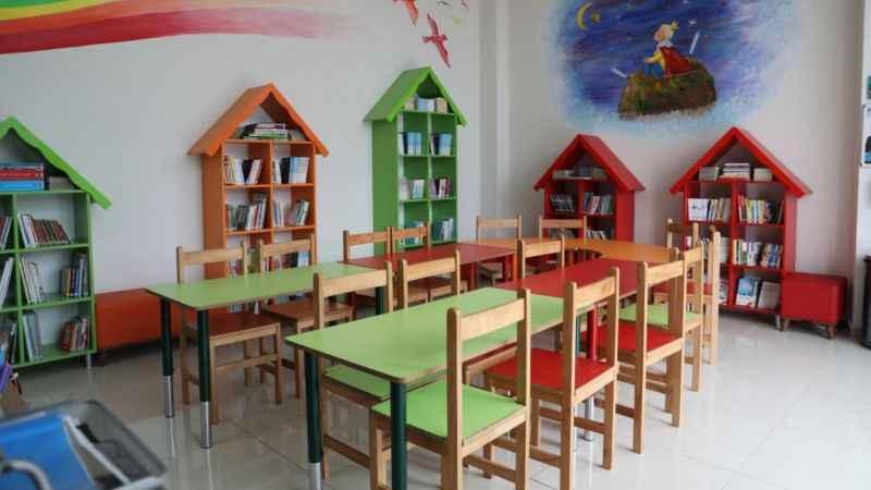 İZGİM Çocuk Kütüphanesi kitap okuma alışkanlığı kazandıracak