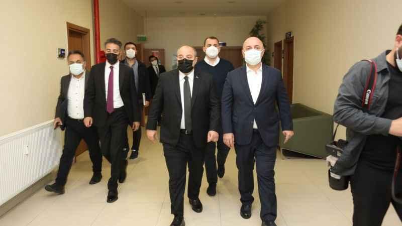 Varank, Darıca'da projeleri inceledi