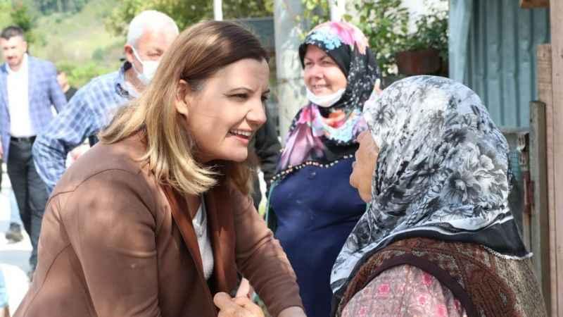 Hürriyet, Dağköy'de önce inceleme yaptı sonra halkla bir araya geldi