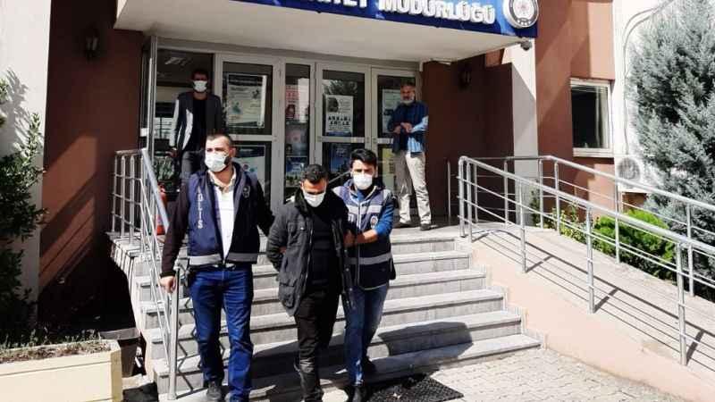 31 yıl hapis cezası ile aranan kişi polise yakalandı
