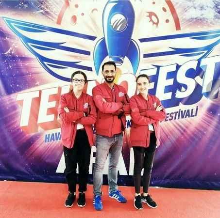 Karamürsel Nazmi Oğuz,  Teknofest 2021'e katıldı