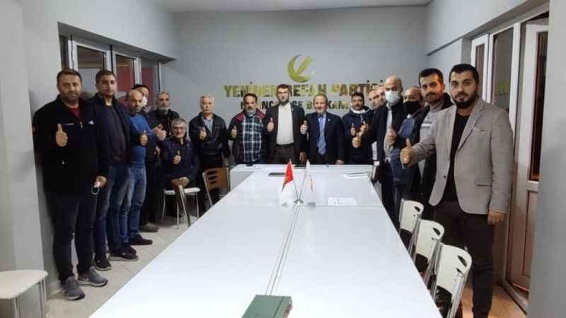 YRP Derince Fatih Erbakanı bekliyor