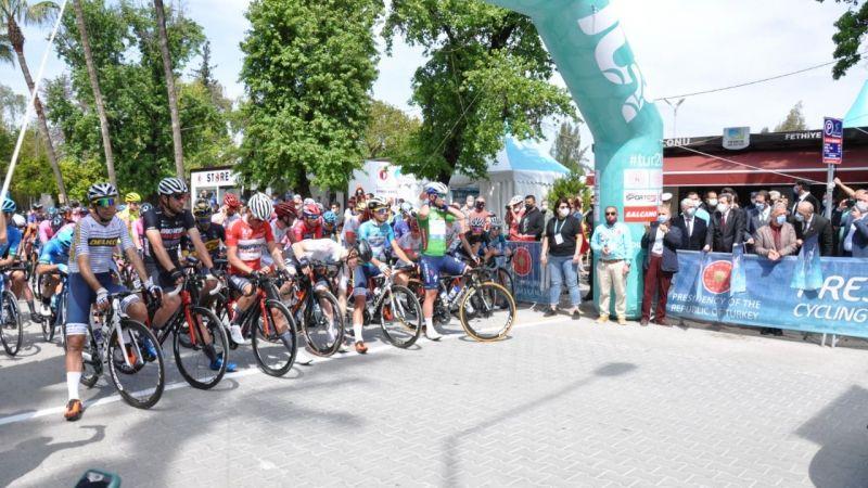 56. Cumhurbaşkanlığı Bisiklet Turu startı verildi