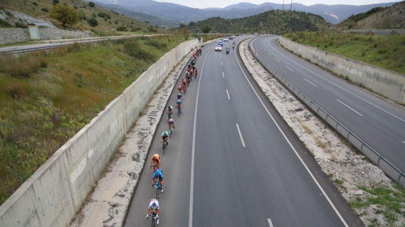 Bisikletçiler Milas'tan geçiş yaptı